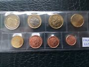 Finland 2012 Year Unc Coin Set From 1 Cent - 2 Euro Total 8 Coins 388 Euro