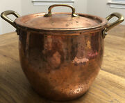Vintage Ruffoni Italy Copper Pot