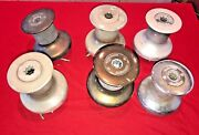 Lots Of Barlow Brass/bronze/stainless/aluminum 20 One Speed Winches