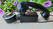 Antique Art Deco Bell System Western Electric Space Saver Rotary Dial Phone 43a
