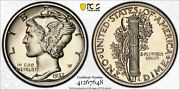 1937 Proof Mercury Dime 10c Silver Pcgs And Cac Certified Pr 66 Proof 648