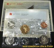 1991 Uncirculated Proof Like Set - Canadian 6-coin Set - Envelope And Certificate