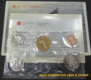 1992 Uncirculated Proof Like Set - Canadian 6-coin Set - Envelope And Certificate