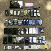 Lot Of 29 Junk Cell Phones 39 Other Misc. Electronic Items For Scrap Gold Recry