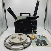Elmo 16-cl 16mm Movie Film Sound Projector Reconditioned Great For Film Transfer
