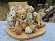 Christopher Old Friends Are The Best Friend Cherished Teddies Mib C-coa