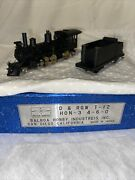 Balboa Brass Custom Painted D And Rgw T-12   Hon3 4-6-0 Engine And Tender
