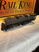 Mth Rail King Union Pacific 4-6-6-4 Steam Engine 3982 And Tender O Gauge