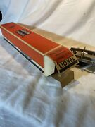 Lionel Pw 3361x Operating Lumber Car With Awesome Box