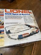 Lionel 6-1584 Nandw Spirit Of America Freight Train Set Diesel 1776 O Scale Tested