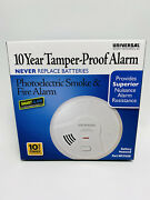 New Universal Photoelectric Smoke And Fire Alarm 10 Years Battery Powered Mp316sb