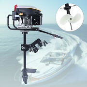 Heavy Duty 4 Stroke 9hp Outboard Motor Fishing Boat Engine W/ Air Cooling System