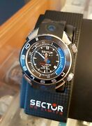 Sector Shark Marine Master Automatic Diver Watch 1000m Helium Safe