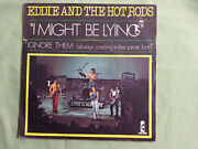 Eddie And The Hot Rods I Might Be Lying - Uk Demo Promo With French Pic Sleeve