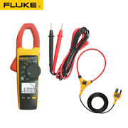 Fluke 376 1000a Ac / Dc Fc Clamp Meter W/ Measures Iflex 2500a Ac For Industrial