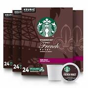 Starbucks Dark Roast K-cup Coffee Pods - French 96 Count,
