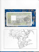 Banknote West African Mali 500 Francs 1989 P-405 Dh Unc 488716953 Serie O.20