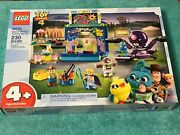 Lego 10770 Toy Story 4 Buzz And Woodyand039s Carnival Mania New And Sealed Retired Set