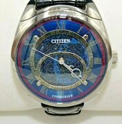 Citizen Campanola Grand Complication Cosmosign Watch Ao1010-06l Gently Used
