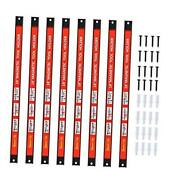 Magnetic Tool Holder 18 Inch 8 Pack Heavy Duty Magnet Tool Bar Strip Rack Wall