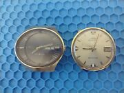 Lot Of 2 Vintage Mido Wrist Watches, Nonworking, For Parts And Repairs