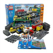 Lego City Cargo Train 7939 100 Complete Tested And Working W Box And Instr.