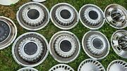 1969 Plymouth Hubcaps 14 Set Of 6 Wheel Covers 69 Hub Caps