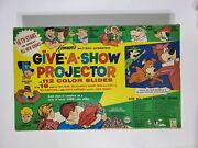 Vintage 1961 Kenner Give A Show Projector No. 502