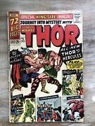 Journey Into Mystery With Thor King Size Annual 1 1st Appearance Zeus Hercules