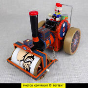 Popeye Steamroller Mechanical Tin Toy ... Look Out Bluto See Movie