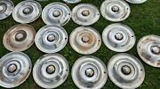 1950 1951 1952 1953 Oldsmobile Hubcaps 15 Wheel Covers Set Of Five 50 51 52 53