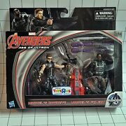 Marvel 3.75 2-pack - Avengers Age Of Ultron Hawkeye And Falcon Tru Exclusive