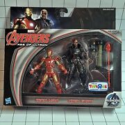 Marvel 3.75 2-pack - Avengers Age Of Ultron Iron Man And Nick Fury Tru Exclusive