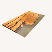 Epoxy Table Acacia Luxury Resin Center Conference Table For Office Meeting Decor