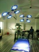 Double Satellite Operation Theater Ceiling Ot Lamp Examination And Surgery Light