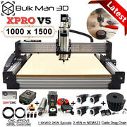 Xprov5 Grbl 1000x1500 Work-bee Cnc Router Machine Full Kit 4 Axis Wood Cnc Mill