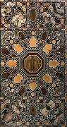 30 Inches Marble Coffee Table Top Peitra Dura Art Luxurious Look Patio Table