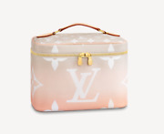 Louis Vuitton By The Pool Toiletry Cosmetic Case Monogram Bag Pouch Nice Bb