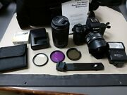 Canon Eos M50 Camera Body With 15-45 And 55-200mm Lens