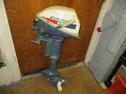 Vintage Evinrude Lightwin 2 Cycle 2 Cylinder 4 Speed Boat Motor Parts/repair
