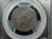 1793 Wreath Large Cent Pcgs Genuine F Details Repaired Lettered Egde 016