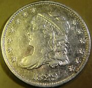 1829 Capped Bust Half Dime Lm-9 Ef R-5 Rare 115