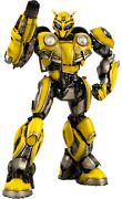 Transformers Bumblebee The Movie Collectible Figure By Threea Toys Sideshow Dlx.