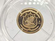 14k Birth Of Our Nation In Gold Commemorative Mini-coin By American Mint 04594