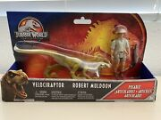 Rare Jurassic World Park Legacy Collection Story Pack Muldoon Gcy12 Velociraptor