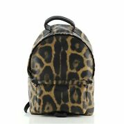 Louis Vuitton Palm Springs Backpack Wild Animal Print Canvas Pm