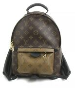Louis Vuitton Lv Backpack Bag M44870 Palm Springs Pm Monogram Reverse Sold Out