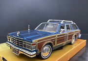1979 Chrysler Lebaron Town And Country Blue 1/24 Rare Color Htf 1 Of 200