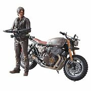 Walking Dead Tv Series 5 Inch Action Figure Deluxe Box Set Daryl Dixon With Cust