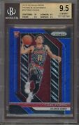 2018-19 Prizm Trae Young Rc Rookie Blue Shimmer /7 78 Bgs 9.5 Only True Gem +💎